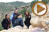 Los diputados del grupo parlamentario Popular, encabezados por su portavoz Víctor Manuel Martínez, visitaron el yacimiento arqueológico La Bastida, en Totana