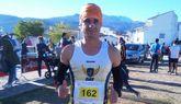 El atleta del Club Atletismo Totana Bartolomé Sánchez participó en la IX Subida al Portazgo