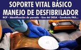 Organizan un Curso de Soporte Vital B�sico (SVB) con manejo de Desfibrilador que se celebrar� los d�as 28 y 29 abril