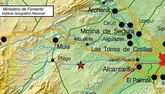 El 112 ha recibido una decena llamadas de distintos municipios de la región informando de un movimiento sísmico, que ha sido sentido en Totana