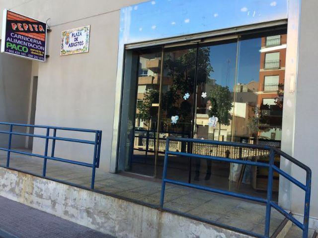 El Ayuntamiento de Totana recibe una subvención de 19.504 euros de la Comunidad Autónoma para acometer obras de mejora en la Plaza de Abastos, Foto 3