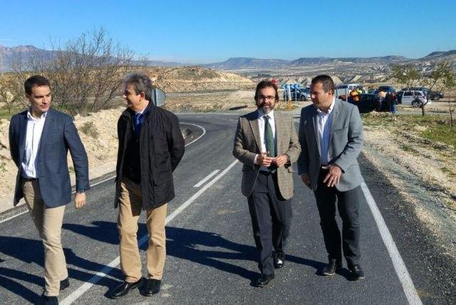Culminan las obras de ampliación y mejora del firme de la carretera que une la Puebla de Mula con Fuente Librilla - 1, Foto 1