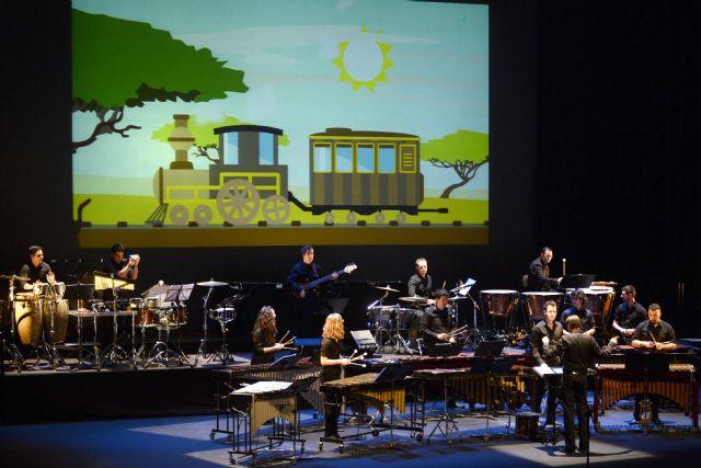 Los 'Conciertos en Familia' del Auditorio regional acercan este domingo a los más pequeños al mundo de la percusión - 1, Foto 1