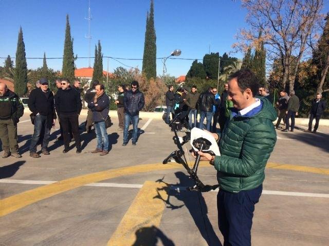 Usarán drones para la gestión y el seguimiento de la biodiversidad en la Región, Foto 1