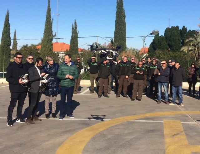 Usarán drones para la gestión y el seguimiento de la biodiversidad en la Región, Foto 3