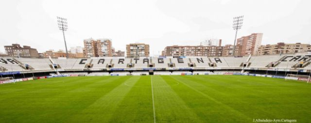 Los clubes de la Liga Comarcal de Futbol Base asistiran como invitados a los partidos del F. C. Cartagena - 1, Foto 1