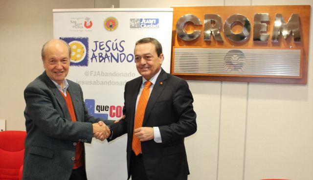 La Fundación Jesús Abandonado recibe la colaboración de CROEM para luchar contra la exclusión social en Murcia, Foto 2