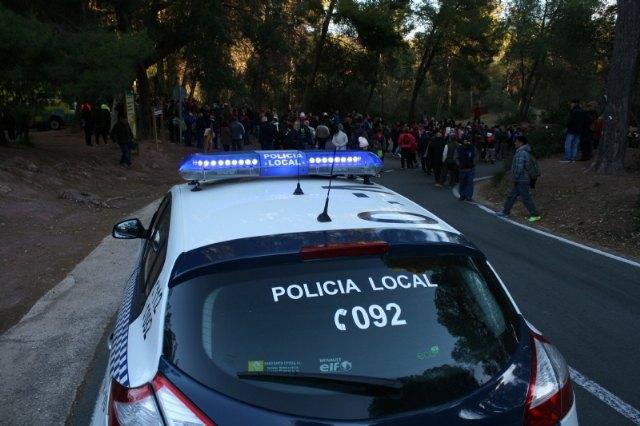 Más de 50 efectivos integrarán el dispositivo de seguridad de la romería de regreso de La Santa de Totana este sábado 13 de enero, Foto 1