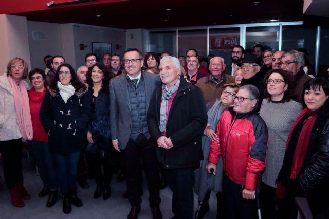 Francisco Saavedra es elegido por aclamación candidato socialista a la Alcaldía de Alcantarilla - 1, Foto 1