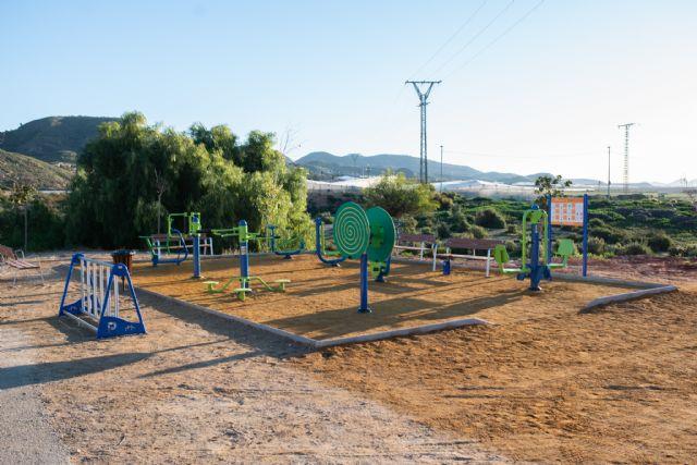 Nuevo parque biosaludable en Mazarrón, Foto 1