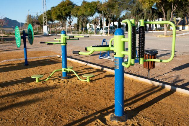 Nuevo parque biosaludable en Mazarrón, Foto 2