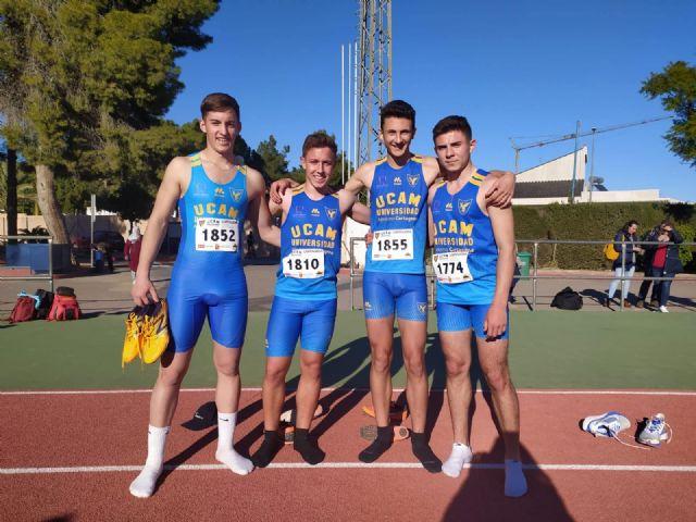 Lluvia de medallas en el Regional de combinadas para el UCAM Atletismo Cartagena - 3, Foto 3