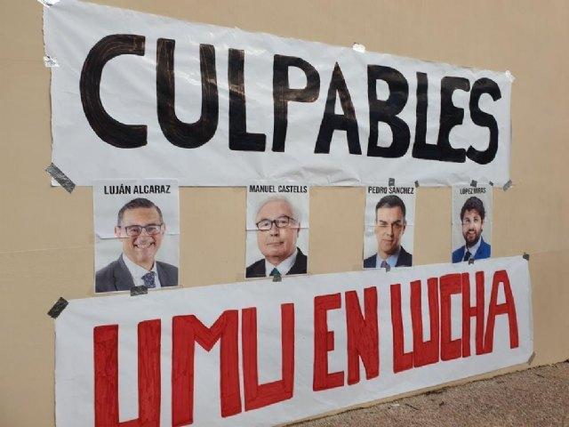 UMU en Lucha realiza acciones en contra del Rector y del Gobierno - 1, Foto 1