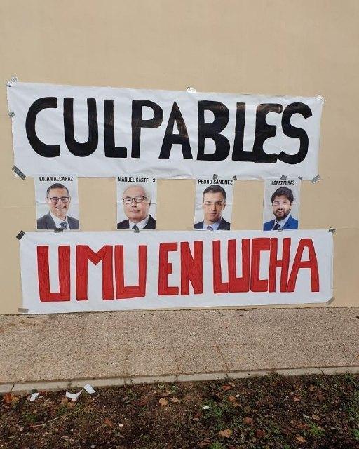 UMU en Lucha realiza acciones en contra del Rector y del Gobierno - 2, Foto 2