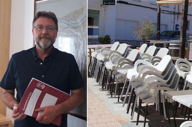 El concejal de Sanidad incide en que el Gobierno regional decreta el cierre de la hostelería - 1, Foto 1