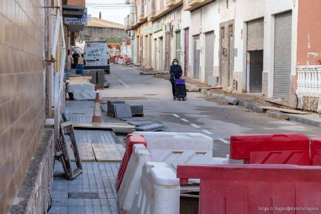 Infraestructuras lleva a cabo la remodelación de las calles Acacias y Huerto de Amaro, en Barrio de Peral y San Antón - 1, Foto 1