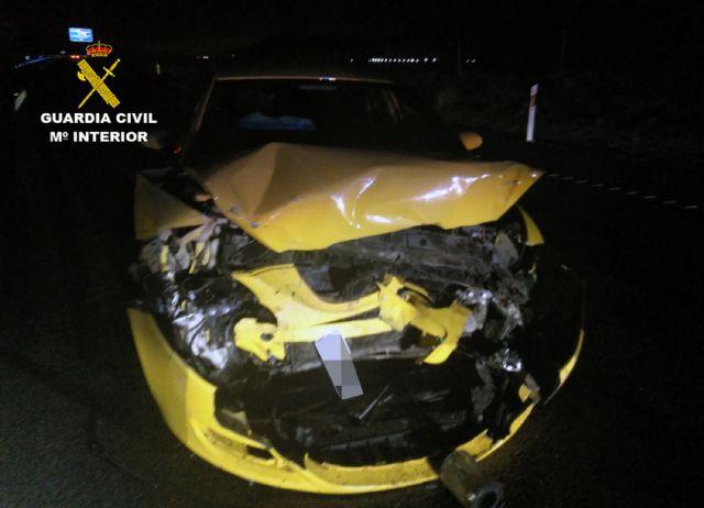 La Guardia Civil investiga a un conductor por circular en sentido contrario y ebrio en la autov�a RM-3 (Totana-Mazarr�n), Foto 1