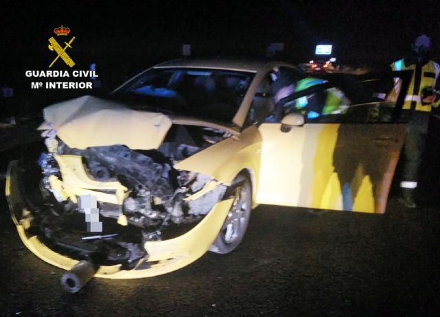 La Guardia Civil investiga a un conductor por circular en sentido contrario y ebrio en la autov�a RM-3 (Totana-Mazarr�n), Foto 2