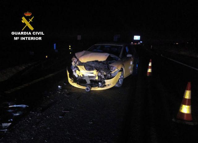 La Guardia Civil investiga a un conductor por circular en sentido contrario y ebrio en la autov�a RM-3 (Totana-Mazarr�n), Foto 4