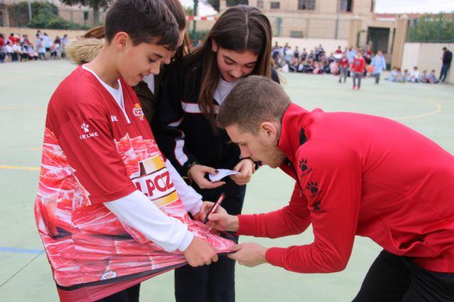 ELPOZO AL COLE| Pito y Fernan comparten la jornada con los escolares del Colegio Luis Vives de Murcia - 4, Foto 4