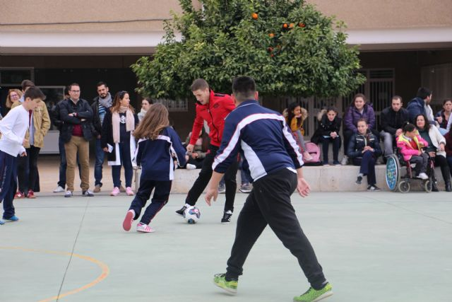 ELPOZO AL COLE| Pito y Fernan comparten la jornada con los escolares del Colegio Luis Vives de Murcia - 5, Foto 5