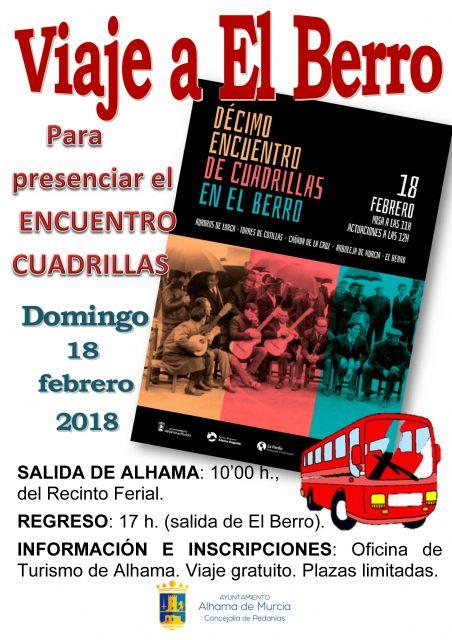 10º Encuentro de Cuadrillas en El Berro, Foto 2
