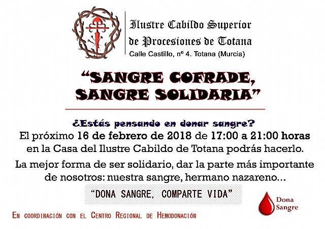 La iniciativa Sangre cofrade, sangre solidaria tendrá lugar el próximo viernes 16 de febrero, Foto 4