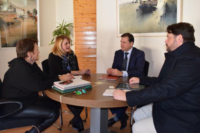 Reunión con la Asociación de Promotores de la Región de Murcia, Foto 1