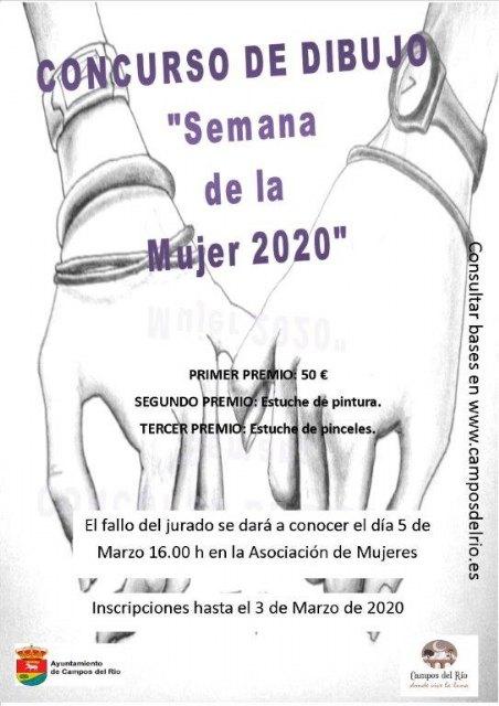 I Concurso de Dibujo Semana de la Mujer Marzo 2020 - 1, Foto 1
