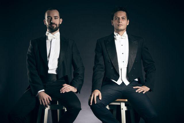 El duo Kinetic Percussion despliega su virtuosismo y energía en el segundo Con-cierto sabor de Cultura - 1, Foto 1