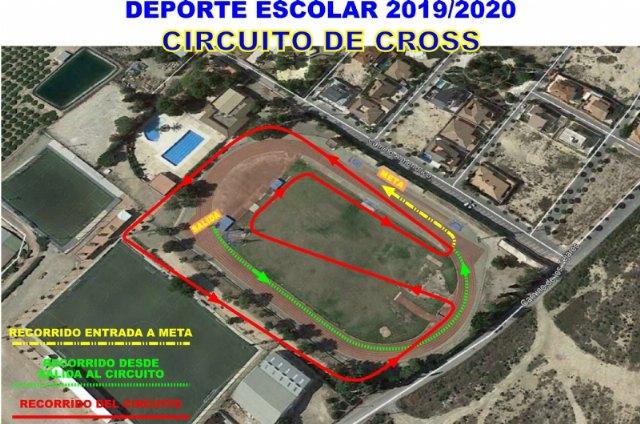 Este viernes se disputa en la pista del Guadalentín la prueba de cross dentro del deporte escolar - 1, Foto 1