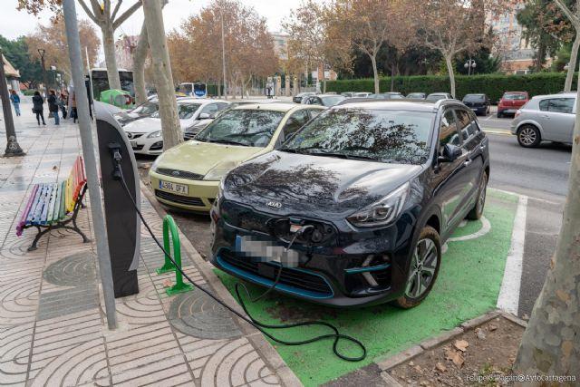 El parque móvil de híbridos y eléctricos en Cartagena se incrementa en 200 vehículos que se suman a las bonificaciones en el impuesto - 1, Foto 1
