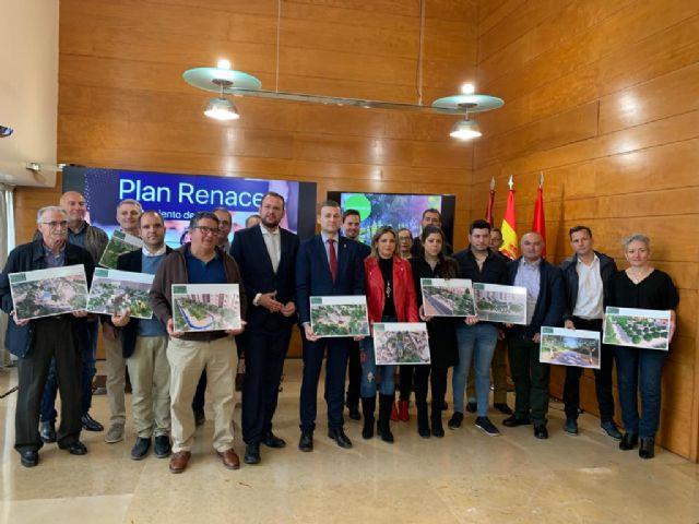 El Ayuntamiento invierte casi 1,3 millones de euros en la mejora de diez parques y jardines de las pedanías con el ´Plan Renace´ - 1, Foto 1