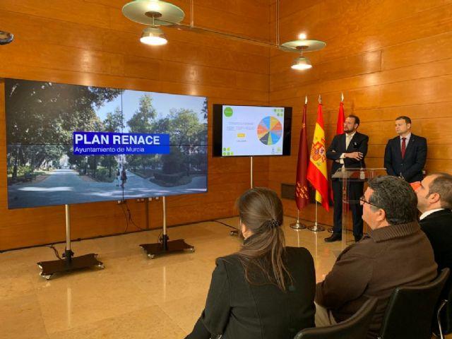 El Ayuntamiento invierte casi 1,3 millones de euros en la mejora de diez parques y jardines de las pedanías con el ´Plan Renace´ - 2, Foto 2