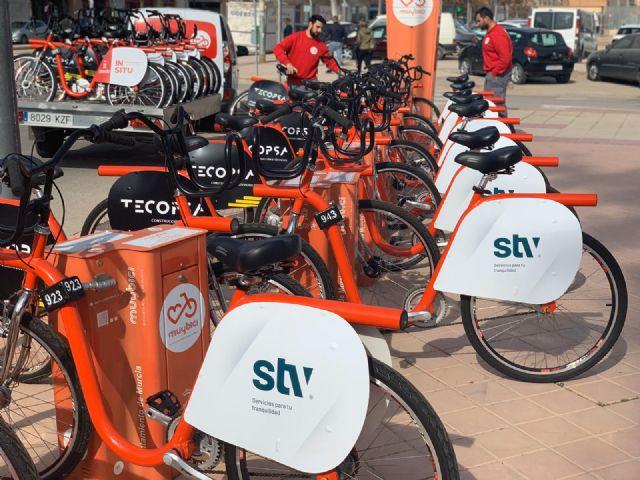 50 nuevas bicicletas se incorporan al sistema de alquiler municipal MuyBici - 1, Foto 1