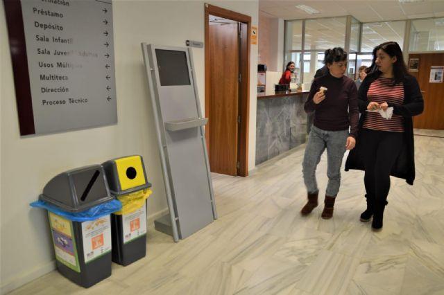 Los usuarios de las bibliotecas y salas de estudio ya disponen de puntos de reciclaje - 3, Foto 3