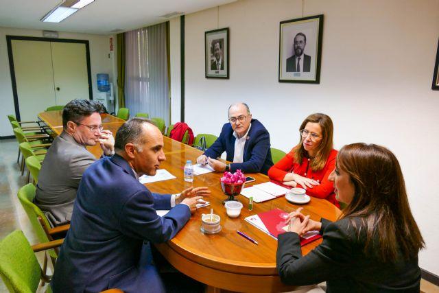 Ayuntamiento y UPCT colaboran con la FMRM para que la Politécnica trabaje con todos los municipios de la Región - 1, Foto 1