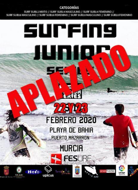 Aplazada la 'fesurfing junior series' para los días 22 y 23 de febrero, Foto 1