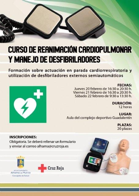 Nuevo curso sobre reanimación cardiopulmonar y manejo de desfibriladores, Foto 1