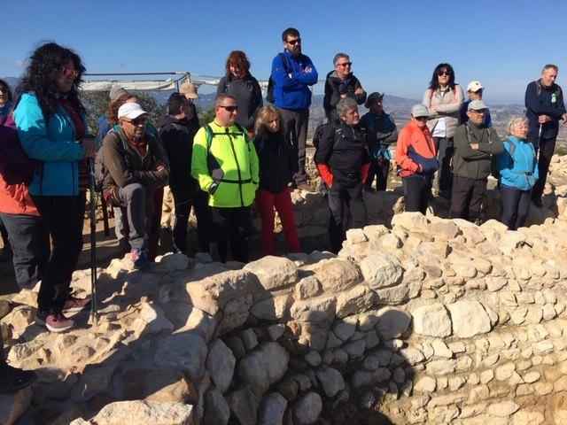 El club senderista de Totana realiz� la ruta de La Almoloya, Foto 1