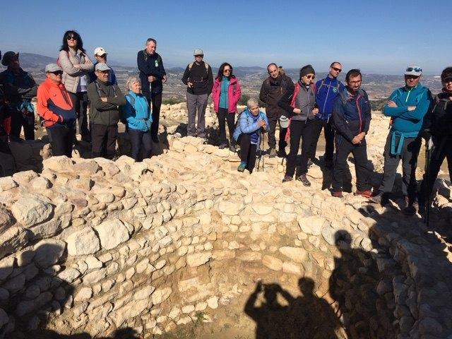 El club senderista de Totana realiz� la ruta de La Almoloya, Foto 2