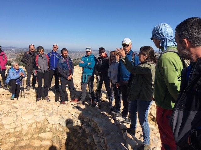 El club senderista de Totana realiz� la ruta de La Almoloya, Foto 3