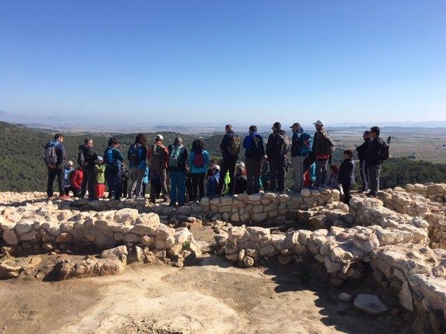 El club senderista de Totana realiz� la ruta de La Almoloya, Foto 4