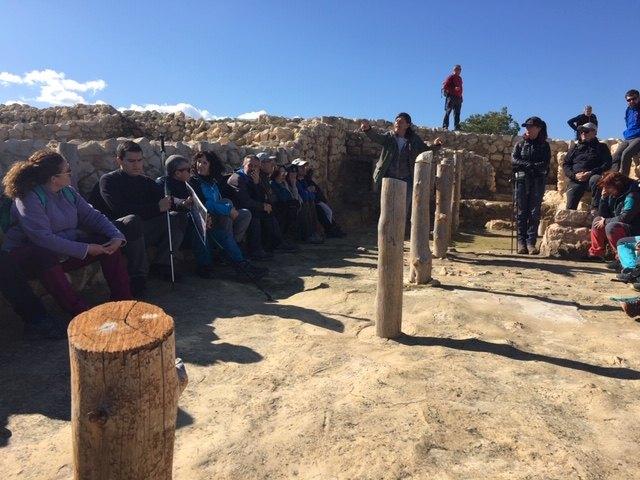 El club senderista de Totana realiz� la ruta de La Almoloya, Foto 6