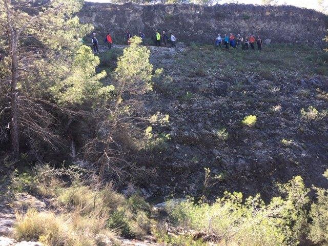 The Totana hiking club made the route of La Almoloya, Foto 7