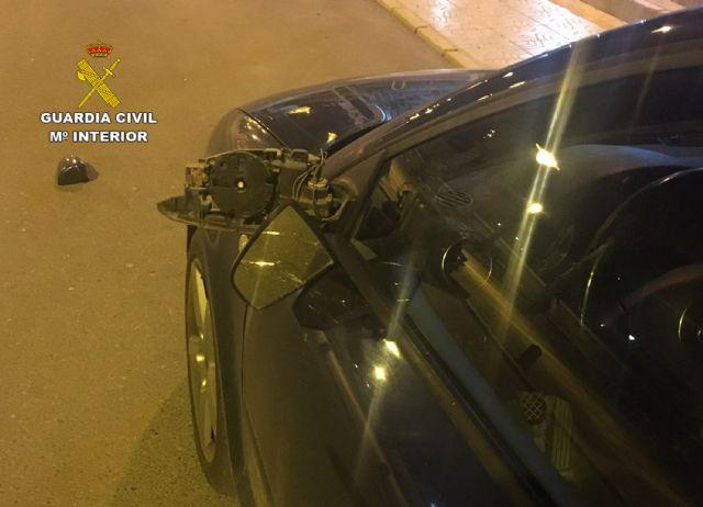 La Guardia Civil investiga en Mazarrón a tres menores por causar daños a numerosos vehículos - 1, Foto 1
