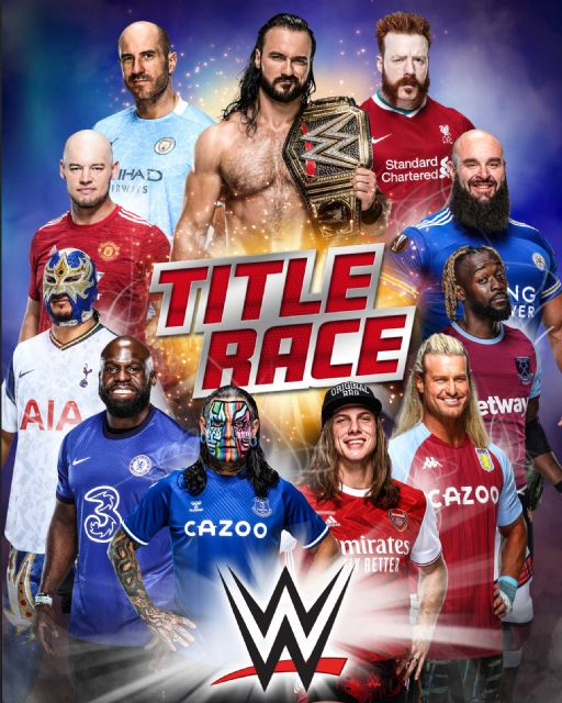 Las superestrellas de la WWE toman partido en la Premier League - 1, Foto 1