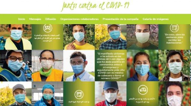 Torre Pacheco se suma a la campaña de Proexport para prevenir el COVID en el sector agrícola - 1, Foto 1