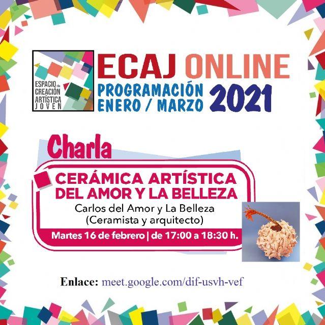 La Concejalía de Juventud de Molina de Segura organiza la charla Cerámica artística del Amor y la Belleza el martes 16 de febrero - 1, Foto 1