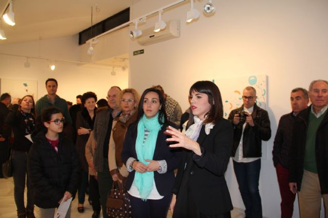 La artista lumbrerense Ana Gabarrón inaugura su exposición 'Un balanceo, un recuerdo' en la Casa de los Duendes Puerto Lumbreras - 2, Foto 2